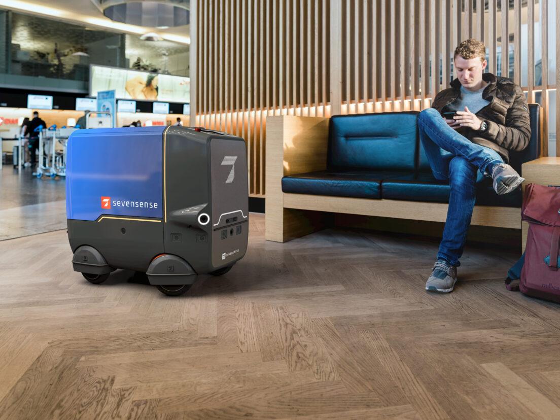 Roboter mit siebtem Sinn